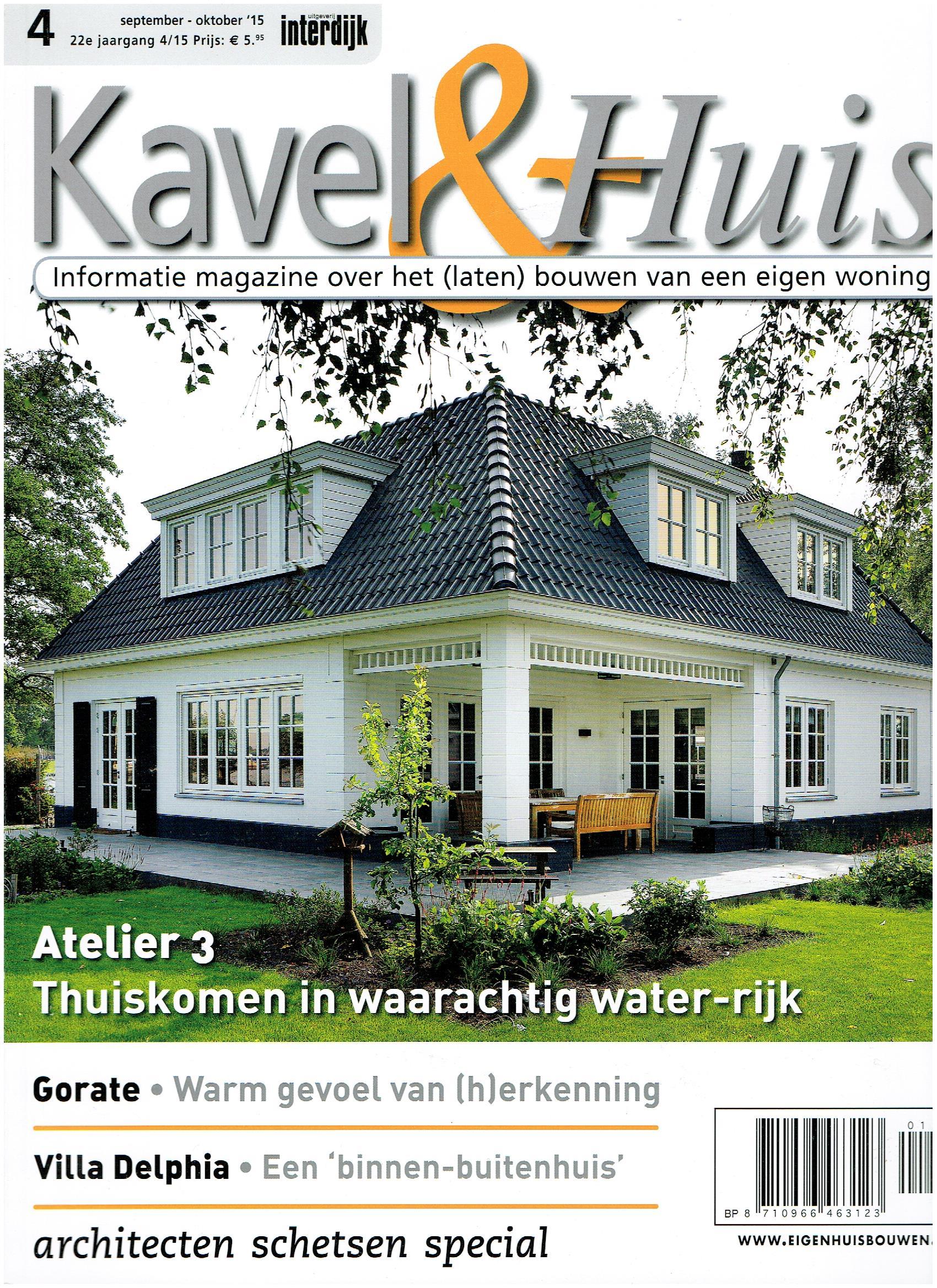 Portfolio bouwtekst for Kavel en huis droomhuis